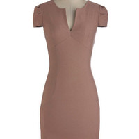 $44.99 Chic Him Dress in Dusty Rose | ModCloth.com