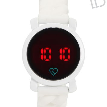 LLD Braided LED Touch Watch