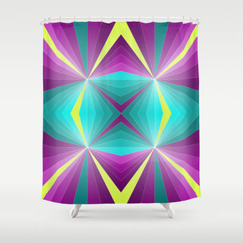 Abstract pattern Shower Curtain by eDrawings38 | Society6