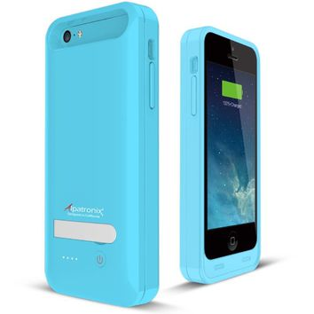 Alpatronix BX120plus Apple MFi Certified Extended Protective Battery Case for iPhone 5S, 5C & 5…