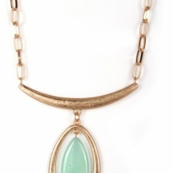 Turquoise Jeweled Necklace