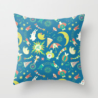 The Night Circus (I) Throw Pillow by Stanley Chung