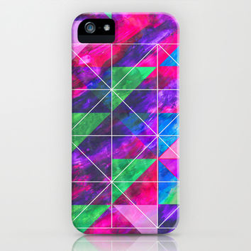 Painting Outside The Lines  iPhone & iPod Case by Tangerine-Tane