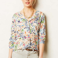Cartography Buttondown