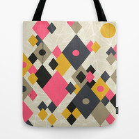 Flying Kites Tote Bag by Prelude Posters
