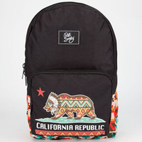 Riot Society Native Cali Bear Backpack Black Combo One Size For Men 24443914901