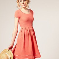 ASOS &#x27;50s Knitted Dress