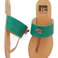 BC Footwear Boho In the Late Night Lights Sandal in Turquoise