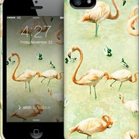 Flamingos iPhone by Lisa Argyropoulos | Nuvango