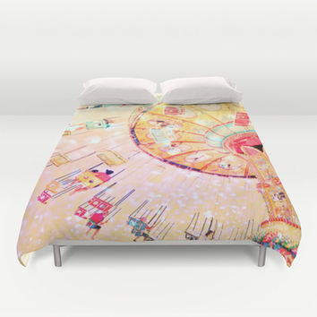 Joy Ride... Duvet Cover by Lisa Argyropoulos | Society6