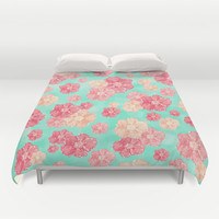 Blossoms Duvet Cover by Lisa Argyropoulos | Society6