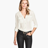 H&M V-neck Blouse $19.95