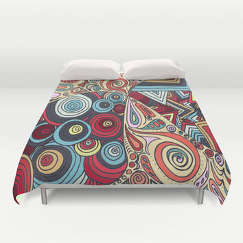 Summa' Time Duvet Cover by DuckyB (Brandi)