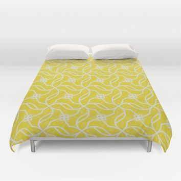 Lemon Meringue Pattern Duvet Cover by k_c_s | Society6