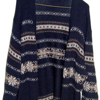 Cozy Blue  Unisex Cardigan