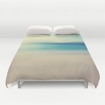 Beach Duvet Cover by Ally Coxon | Society6