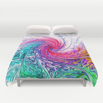 True Colours Duvet Cover by Ally Coxon  Society6