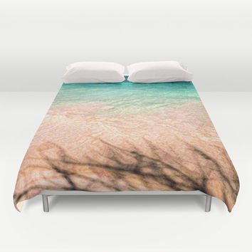 SEA AND TREE Duvet Cover by Catspaws | Society6