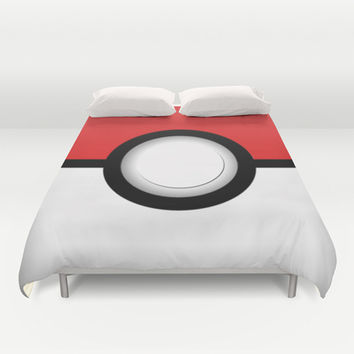Gotta catch ém all Duvet Cover by Nicklas Gustafsson
