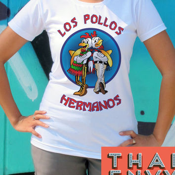 Los Pollos Hermanos Womens T Shirt - Cool Fun Fan Movie T Shirts