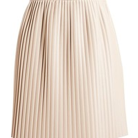 MSGM | Pleated Eco-Leather Skirt | Browns fashion & designer clothes & clothing