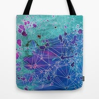 Nerves Tote Bag by Natalie Foss