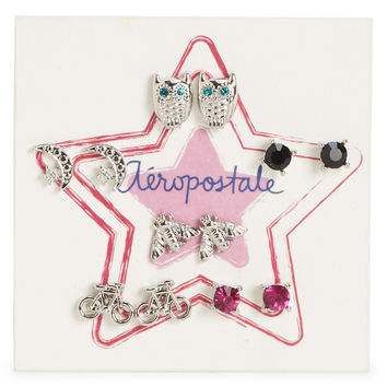 Whimsical Stud Earring 6-Pack