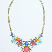 Color Cascade Necklace