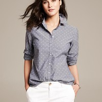Soft-Wash Printed Shirt