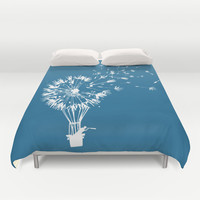 Going where the wind blows Duvet Cover by Budi Satria Kwan