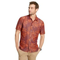 Van Heusen Floral Casual Button-Down Shirt - Men