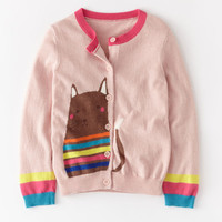 Pet Cardigan (Dusty Pink/Cat)