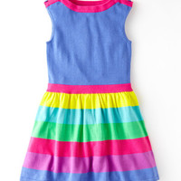 Colourful Knitted Dress (Multi Stripe)