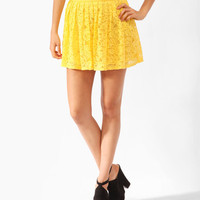 Pleated Lace Skirt | FOREVER21 - 2000047848