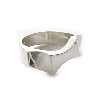 "Sterling Silver Rings | ""Pure Forms"" 