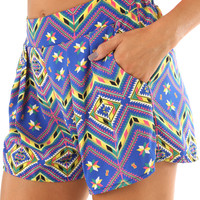 Behind The Shining Star Shorts: Multi