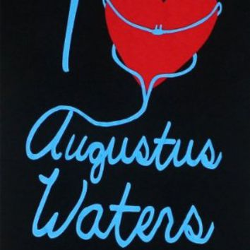 I Heart Augustus Waters - The Fault In Our Stars Juniors T-shirt