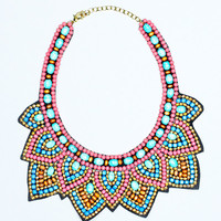 Native Beauty Statement Necklace