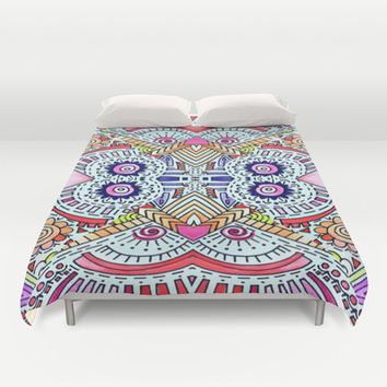 Fiesta Duvet Cover by DuckyB (Brandi)