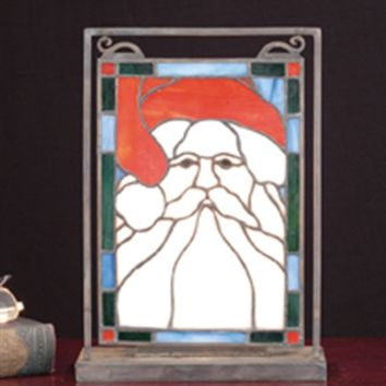 Santa Head Mini Window & Display Windows