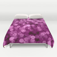 Purple Scrub  - JUSTART © Duvet Cover by JUSTART  * Syl *