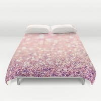 Blush Duvet Cover by Lisa Argyropoulos