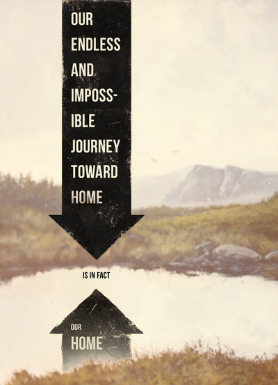 $25.00 Endless Journey Home Art Print by Marke Johnson | Society6