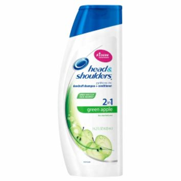 Head & Shoulders Dandruff Shampoo + Conditioner, Green Apple