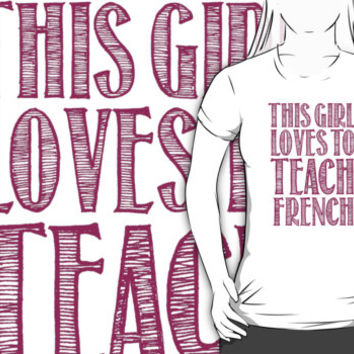 Amazing 'This Girl Loves to Teach Science' Products