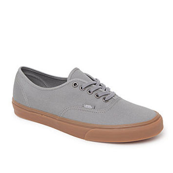 Vans Authentic Shoes - Mens Shoes - Gray -