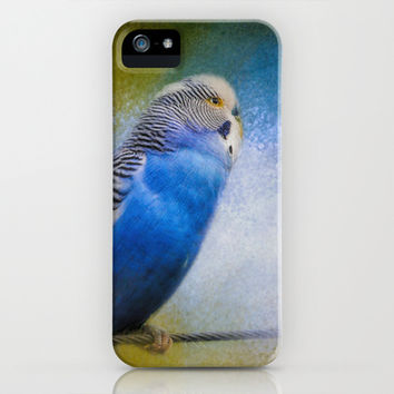 The Budgie Collection - Budgie 2 iPhone & iPod Case by Jai Johnson
