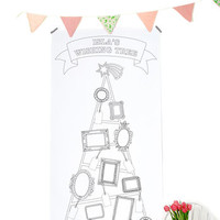 Personalised Colour In Wishing Tree Poster