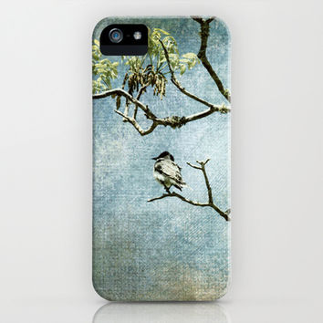 Lucky Bird iPhone & iPod Case by Jai Johnson