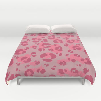 Leopard Print #3 Duvet Cover by Ornaart